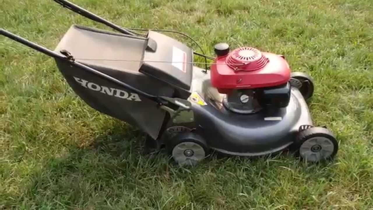 Honda HRR216 Harmony II Lawn Mower Quadra Cut System – Final Look & Start Part II - July 17 ...