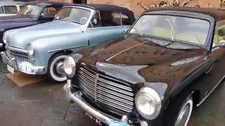 Отдых в Италии средневековая Сиена выставка ретро автомобилей