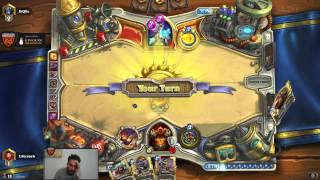 Hearthstone LifeCoach Playing Patron Warrior For Legend Rank