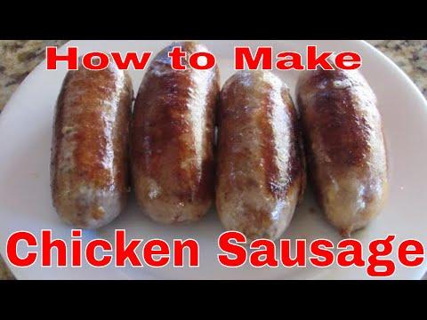 How To Make Chicken Sausage