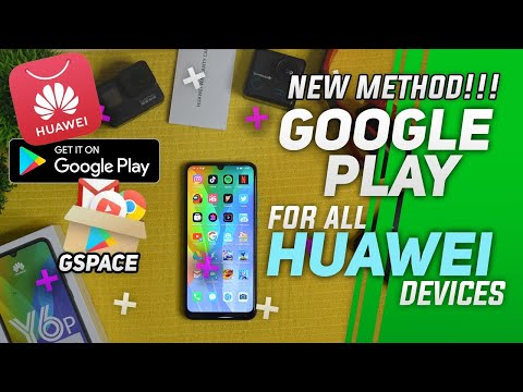 NEW GSPACE!!Google Play for all HUAWEI Devices + Shoutout Bronze Members
