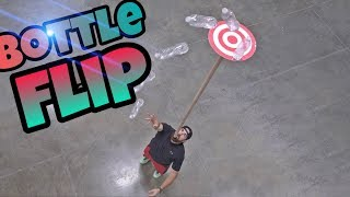 WORLD RECORD BOTTLE FLIPS (DUDE PERFECT)