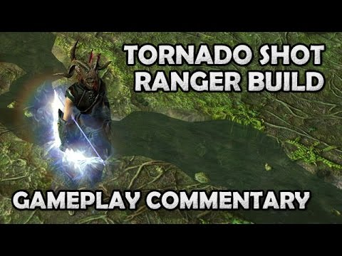 Path of Exile: Crit Puncture Tornado Shot Ranger Gameplay Commentary