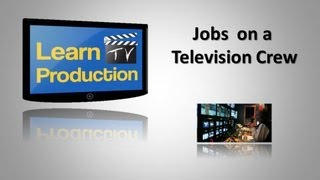 Jobs in tv production