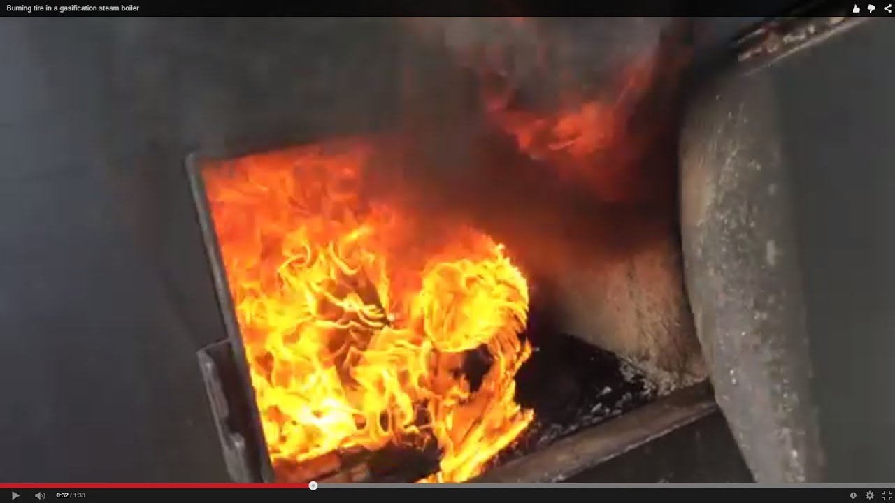 Burning Tire In A Gasification Steam Boiler Doovi