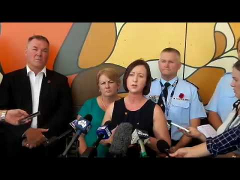 Queensland Attorney-General Yvette D'Ath Address Media Over Cleveland Detention Centre