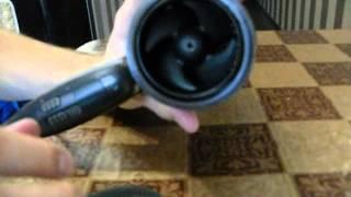 розбирання фену philips HP4935 чистка від волосся