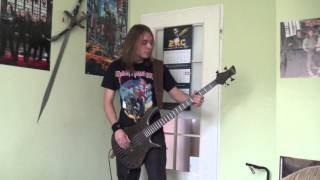 Iron Maiden - 2 Minutes to Midnight bass cover by Gibson