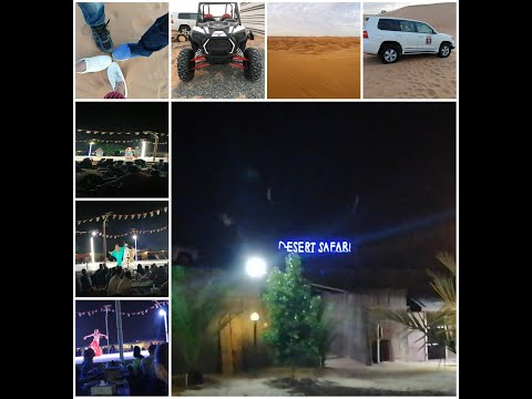 EP 3#DESERT SAFARI with DUNE BASHING||BBQ Dinner||Falcon Experience