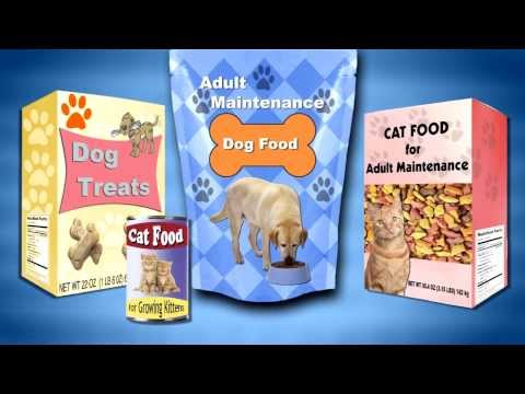 Pet Food And Treats In Your Home