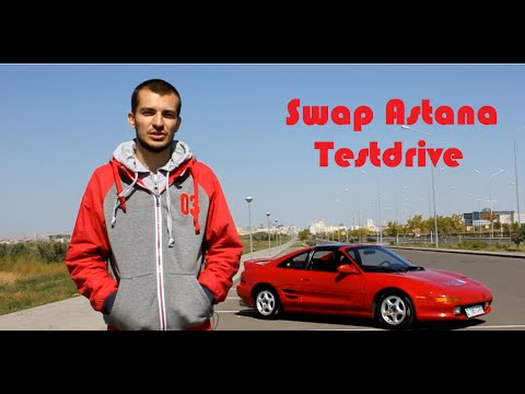 Toyota MR2 Тест-драйв. Swap Astana Testdrive