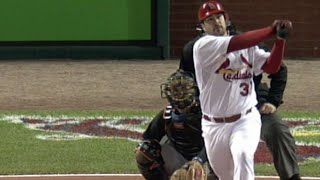 Cards pitcher Jeff Suppan homers in '06 NLCS Game 3