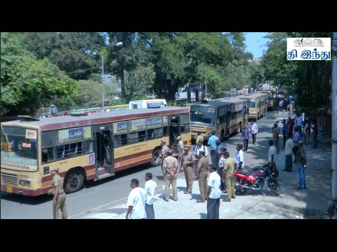 Sudden Strike: MTC Staff - Student Issue   Tamil The Hindu