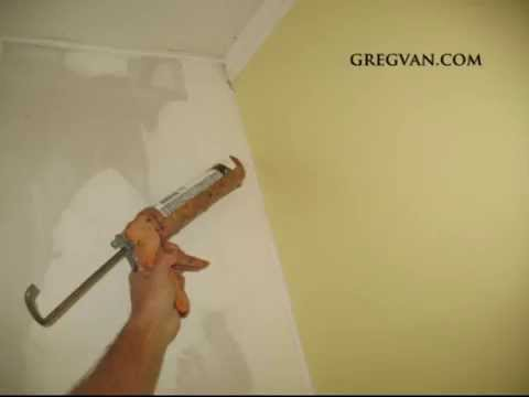 Caulking As an Alternative Method for Finishing Drywall Corners
