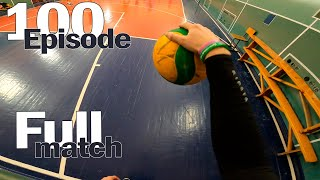 FULL MATCH VOLLEYBALL FIRST PERSON | POV | HAIKYUU IN REAL LIFE | 6 sets | #100 episode