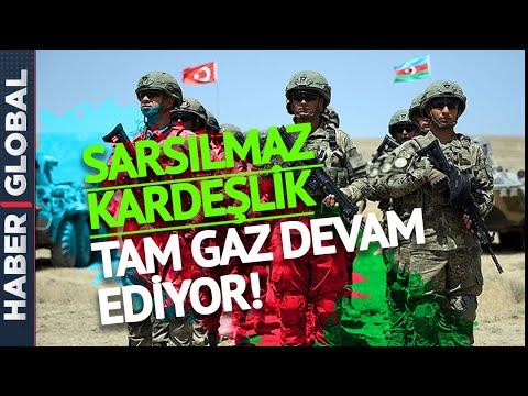 Yol Ver Türk'ün Bayrağına! Türkiye-Azerbaycan Ortak Tatbikatından Özel Görüntüler!