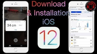 iOS 12 Download & Installation [Deutsch/German]