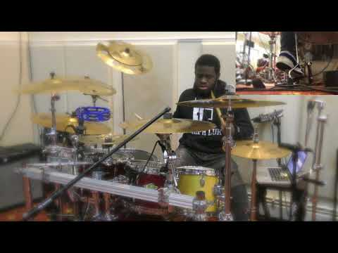Marvin Sapp Glory Drum Cover