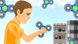 FIDGET SPINNER + HAPPY WHEELS = A BAD IDEA!