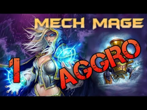 Aggro Mech Mage! Broken Old Deck - Hearthstone