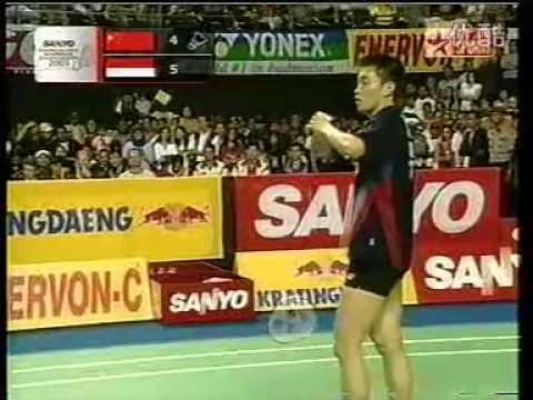2003 Indonesia Badminton Open MS Final - Chen Hong[CHN] Vs Taufik Hidayat[IND]