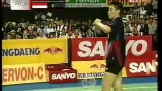Download Video 2003 Indonesia Badminton Open MS Final - Chen Hong[CHN] Vs Taufik Hidayat[IND] MP3 3GP MP4
