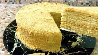 САМЫЙ ВКУСНЫЙ Торт МЕДОВИК Тающий во рту МЕДОВЫЙ ТОРТ Рецепт