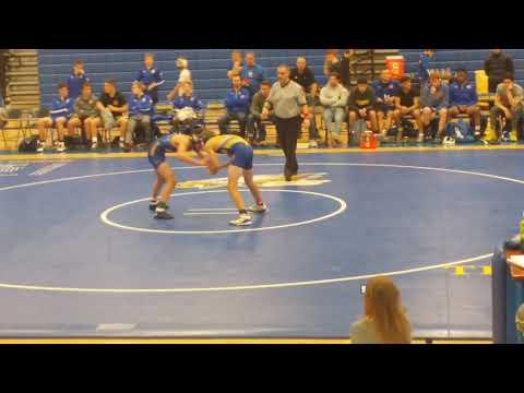 12-2017 Wresting Match - Soph Year- Dominic Iannantone - Carl Sandburg High School