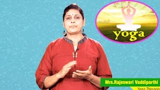 Yoga for Blood Pressure & Hypertension || By Mrs. Rajeswari Vaddiparthi