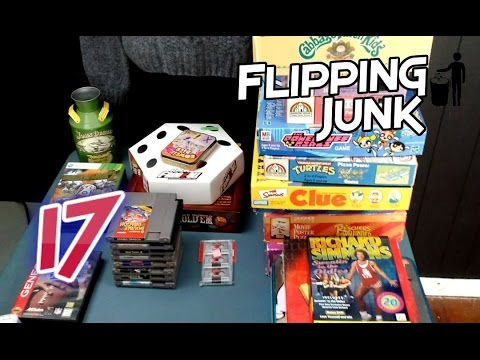 Flipping Junk - 17 - Finding Some Vintage Games, Puzzles, and Toys to Sell on Ebay and Amazon