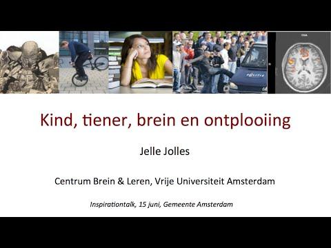 Lezing Jolles |  'Kind, tiener,  brein' & ontplooiing'| Gemeente Amsterdam