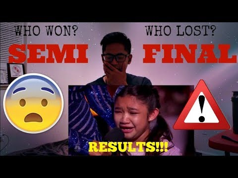 The Results: The Final 5 Acts Going Through To The Finals are... | AGT 2017 (CELINE IS GONE???)