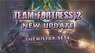 Team Fortress 2 - Chemistry Sets InGame - Strange Hats!
