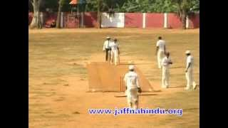 jaffna hindu college battle of hindus match( ball vanthaa adidaa...)