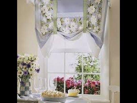 Como hacer cortinas romanas aprenda muy facil como hacer for Como poner ganchos de cortinas
