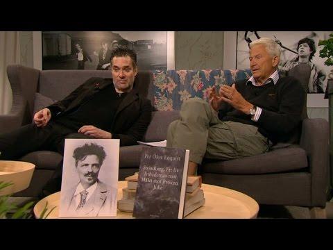 P.O. Enquist diskuterar Strindberg med Thorsten Flinck - Malou Efter tio (TV4)