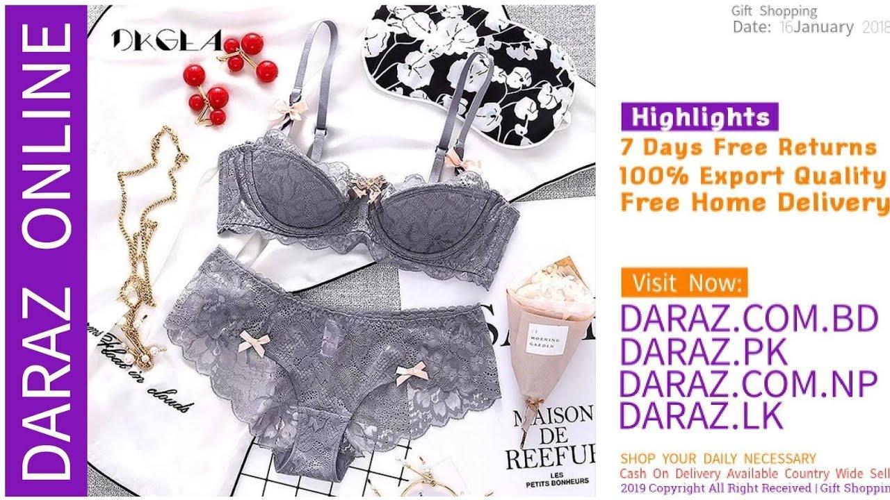 8e0cdd3a3fa2 Soft Bra || Bra Online Shop BD 06 BUY ONLINE - YouTube
