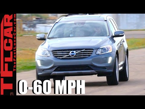 2017 Volvo XC60 T6 0-60 MPH Leaderboard Review: Is the Super-Turbo Super Fast?