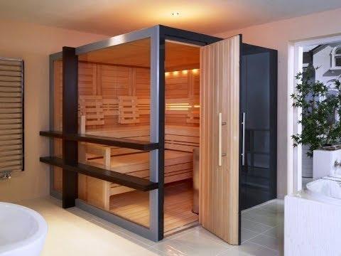 Indoor Sauna Ideas - YouTube