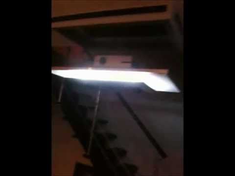 screen projector lift DIY.wmv