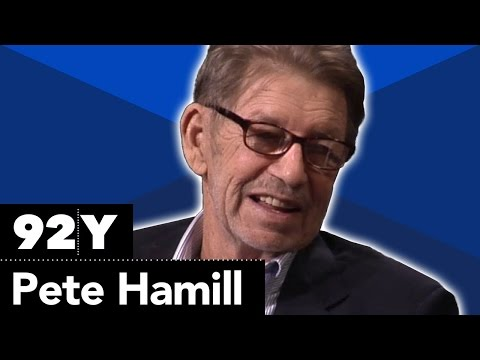 Pete Hamill with Jonathan Schwartz