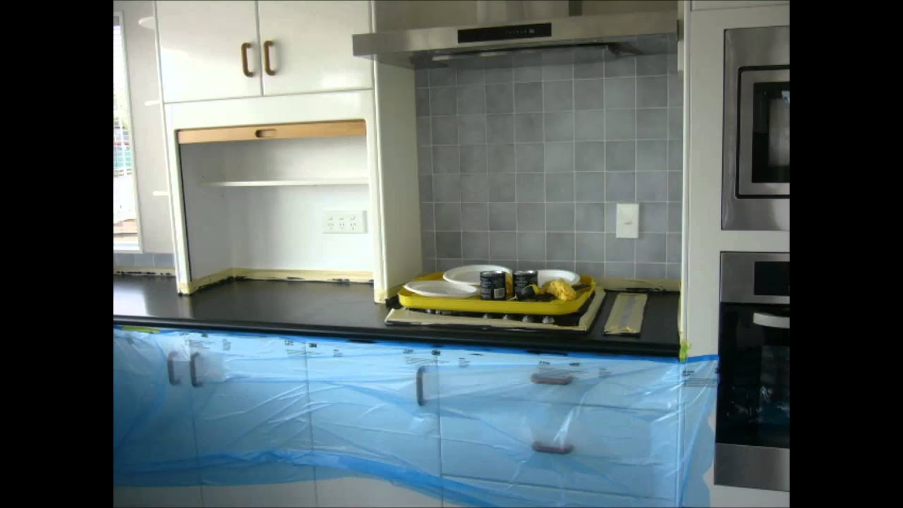 Giani Granite Paint Bench Top Makeover
