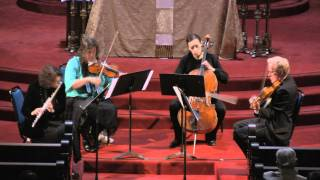 Midsummer Mozart Festival Orchestra performs Mozart Flute Quartet in D Major, K. 285
