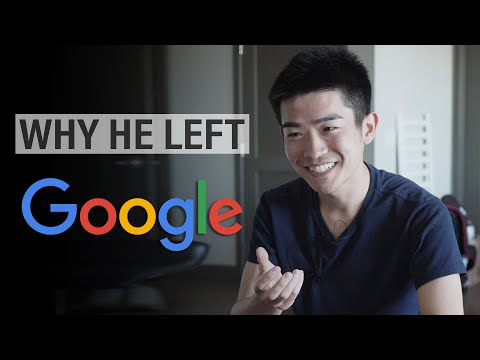 Why he left his job at Google SWE $100k+ (ft  CS Dojo) - YouTube