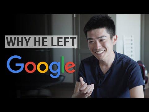 Why he left his job at Google SWE $100k+ (ft. CS Dojo) thumbnail