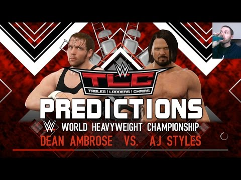 WWE TLC: Tables, Ladders & Chairs 2016 Predictions