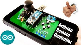 DIY Remote Controller Arduino in PCB   Long Range Remote Controller for RC Robot