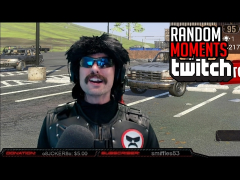 TWITCH FUNNY STREAM MOMENTS #4 - Dr DisRespect | ICE POSEIDON | STEEL | POKELAWLS