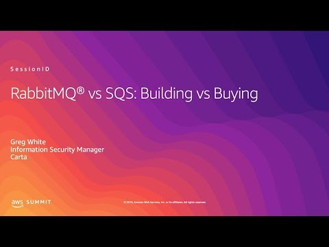 RabbitMQ vs SQS: Build or Buy?
