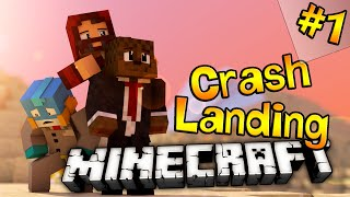 Minecraft Crash Landing ModPack Lets Play 'Needle Gun' #1 | JeromeASF